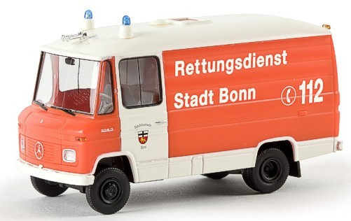 Brekina MB L 508 RTW BF Bonn (Einzelstück)