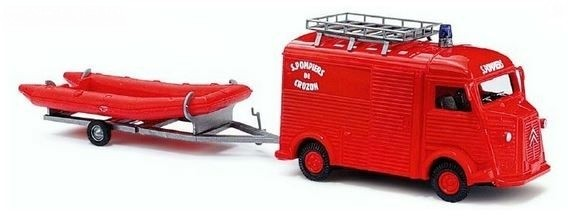 """Busch Citroen H """"Pompiers de Crozon"""" - Einzelstück-"""