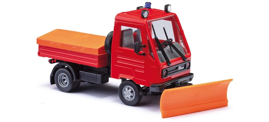 Busch Multicar M26, Feuerwehr mit Schneeräumschild