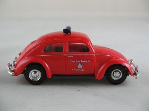 """Busch VW Käfer (1953) """"Freiw. Feuerwehr Schwenningen"""" (Restmenge)"""