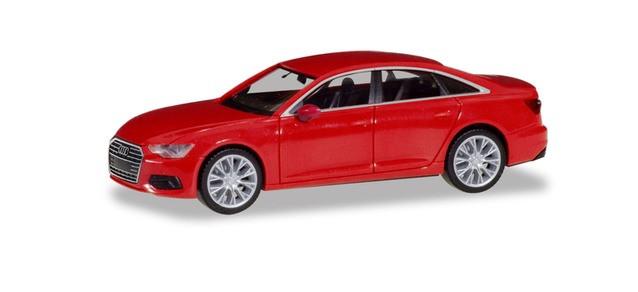 Herpa Audi A6 ® Limousine, misanorot metallic