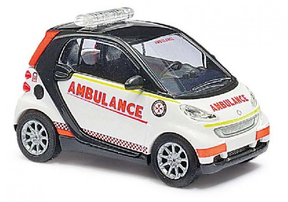 Busch Smart Fortwo 07 St.John Ambulance
