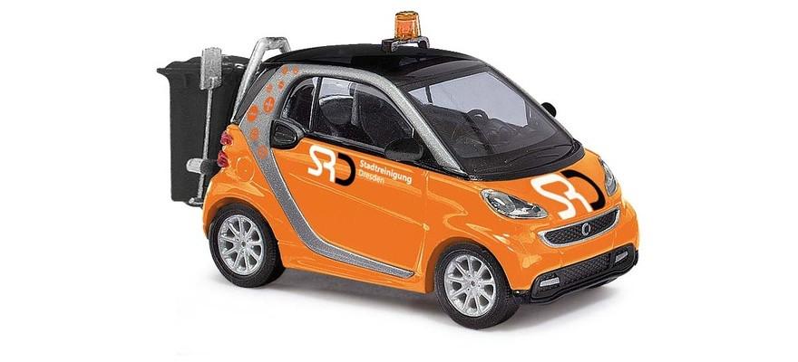 """Busch Smart Fortwo Coupé 2012, """"Stadtreinigung Dresden"""""""