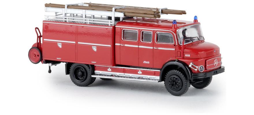 "Brekina MB LAF 1113 LF 16 ""Feuerwehr rot / schwarz"", NH 1Q/2019"