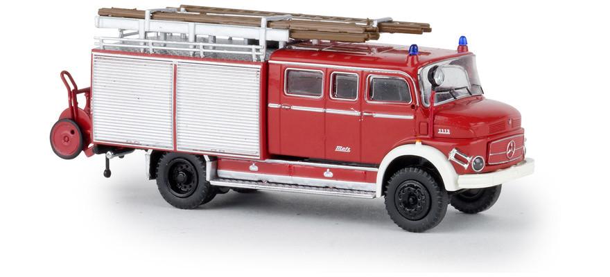 "Brekina MB LAF 1113 LF 16 ""Feuerwehr rot / weiß"", NH 1Q/2019"