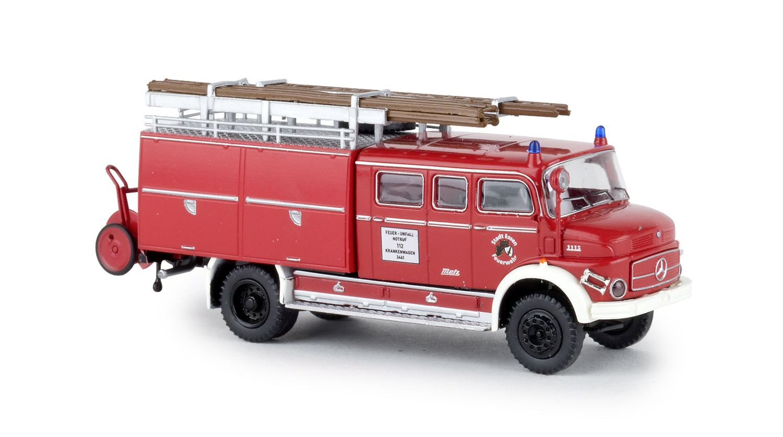 Brekina MB LAF 1113 LF16 Feuerwehr Essen