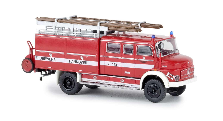 Brekina MB LAF 1113 LF 16 Feuerwehr Hannover, NH 05-07 /19