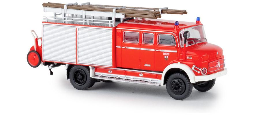 Brekina MB LAF 1113 LF 16 Feuerwehr Bonn, NH 03-04/19