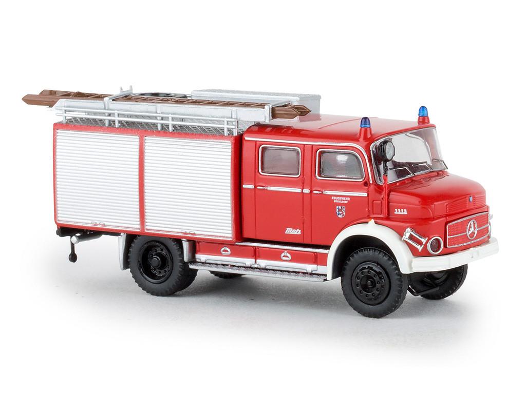 "Brekina MB LAF 1113 TLF 16 "" Feuerwehr Düsseldorf "", NH 03-04/20"