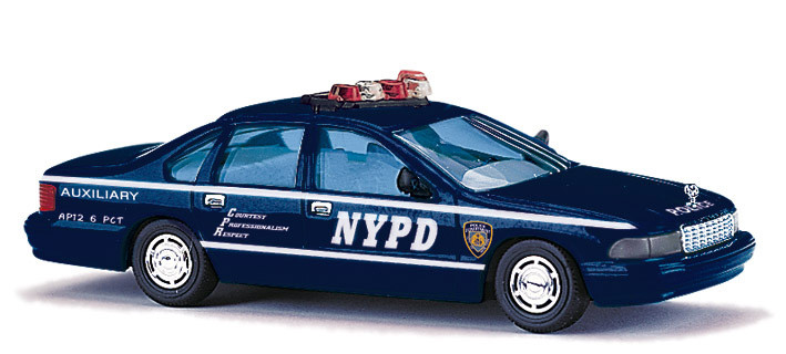 Busch Chevrolet Caprice NYPD, Auxiliary Police