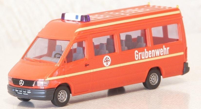 Busch Mercedes-Benz Sprinter Grubenwehr -Einzelstück-