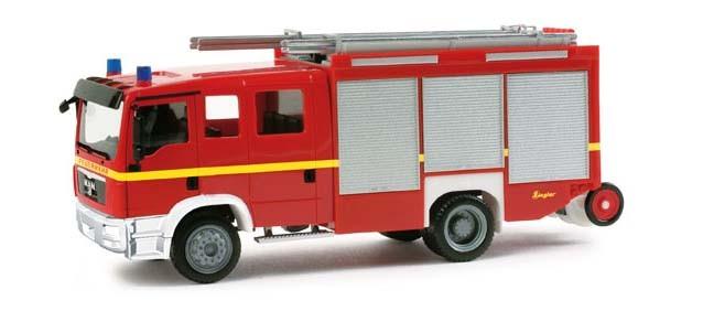 """Herpa MAN TGM LF 20/16 """"Feuerwehr"""" (Restmenge)"""