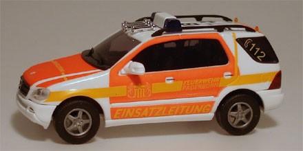 Busch MB M-Klasse Feuerwehr Paderborn (Einzelstück)