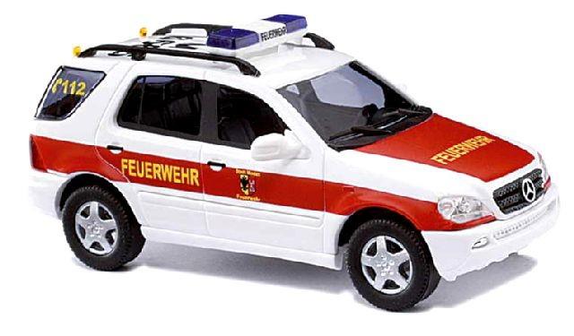 Busch MB ML Klasse ELW Feuerwehr Minden
