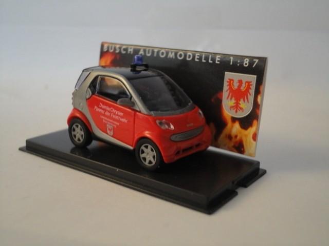 Busch Smart City Coupe Feuerwehr Brandenburg (Einzelstück)