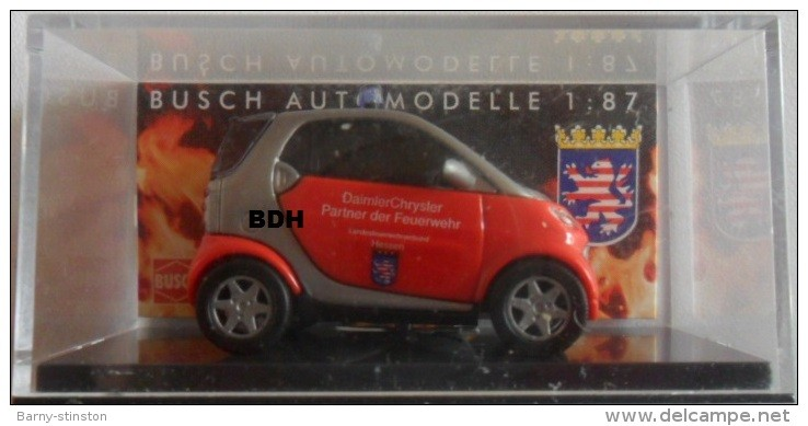Busch Smart City Coupe Feuerwehr  Hessen -Einzelstück-