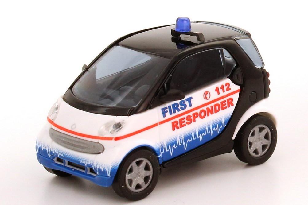 """Busch Smart City-Coupé """"First Responder"""" (Restmenge)"""