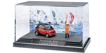 Busch Smart Fortwo Feuerwehr Kiel -Einzelstück-