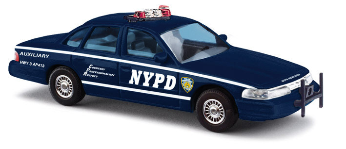 Busch Ford Crown Victoria NYPD, Auxiliary Police