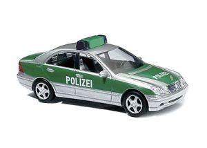 Busch MB C-Klasse Limousine Polizei  -Einzelstück-