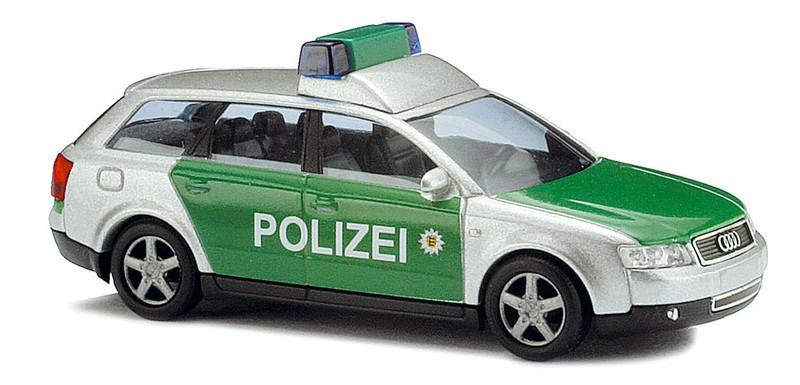 """Busch Audi A4 Avant """"Polizei Baden-Württemberg"""" (Einzelstück)"""