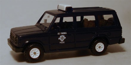 Rietze Mitsubishi Pajero Polizei Griechenland (Restmenge)