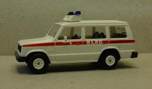 Rietze Mitsubishi Pajero LR, Einsatzfahrzeug DLRG (Restmenge)