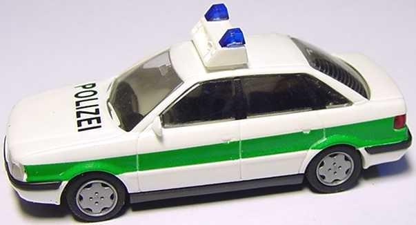 Rietze Audi 80 Mod. ´92 Polizei Bayern (Einzelstück)