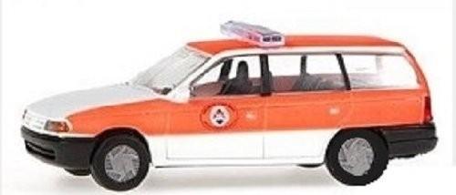 """Rietze Opel Astra Caravan """"Feuerwehr Brüssel"""" (Einzelstück)"""