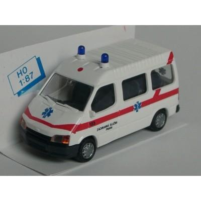 Rietze Ford Transit Krankenwagen, Prag (Einzelstück)