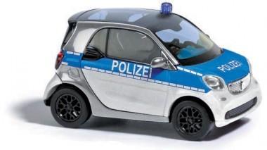 Busch Smart Polizei in silber / blau -Einzelstück-
