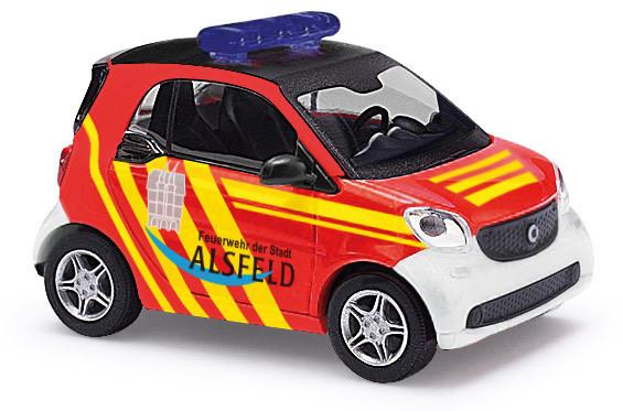 Busch Smart Fortwo Feuerwehr Alsfeld, Baujahr 2014