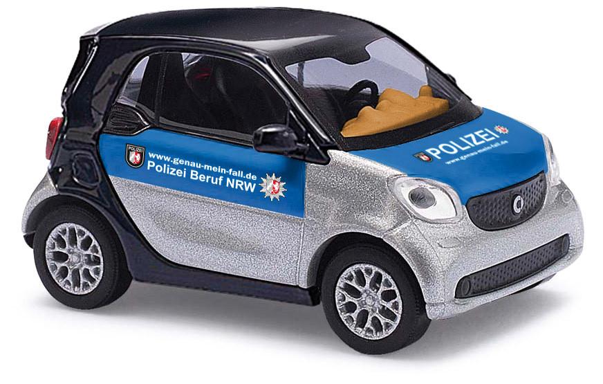 """Busch Smart Fortwo """"Polizei Beruf NRW"""" Polizei, Baujahr 2014"""