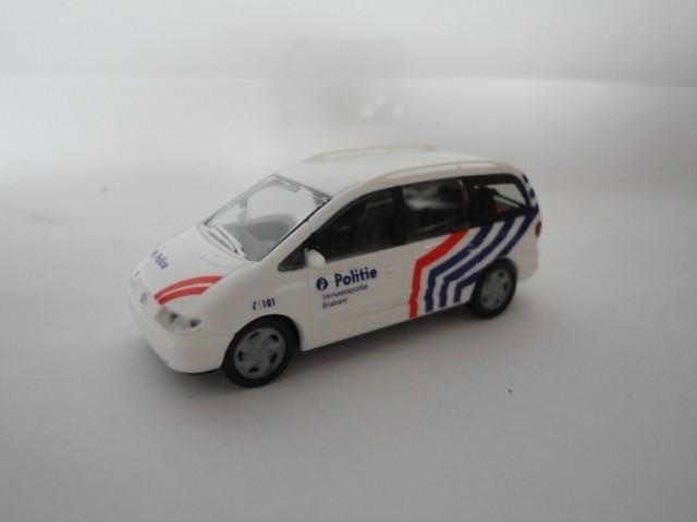 Rietze VW Sharan Politie Belgien