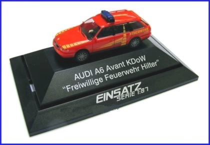 Rietze Einsatz-Serie Audi A6 Avant KDoW FW Hilter (Restmenge)