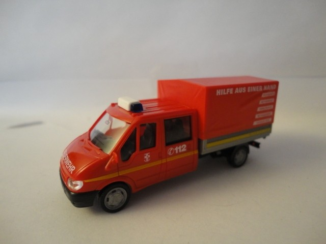Rietze Ford Transit  DoKa P/P Feuerwehr Dorsten