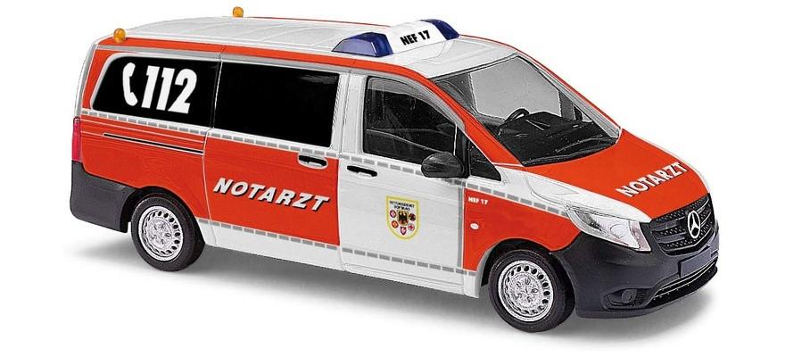 """Busch Mercedes-Benz Vito """"Notarzt Feuerwehr Dortmund"""""""