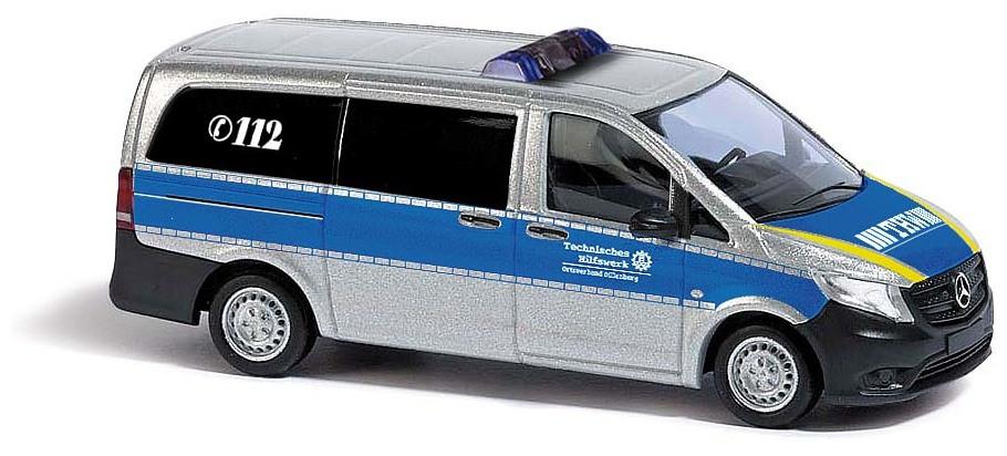 """Busch Mercedes-Benz Vito """"THW"""" - Metallic Lackierung"""