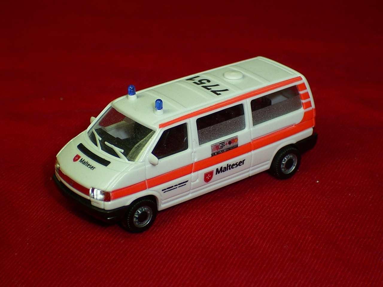 "AWM VW T4 KTW ""Malteser Homburg"" -Einzelstück-"