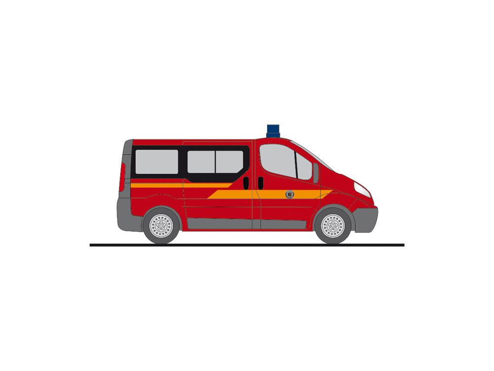 """Rietze Opel Vivaro """" Feuerwehr Dresden-Weixdorf """", NH 05-06/20,(Vorbestellung / Modell noch nicht lieferbar !!!)"""
