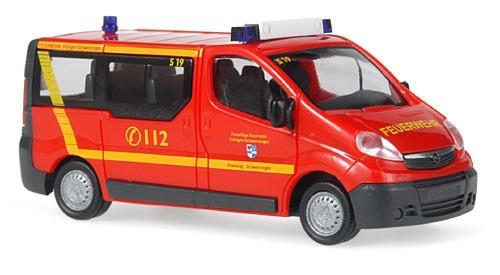 Rietze Opel Vivaro MTW Feuerwehr Villingen-Schwenningen