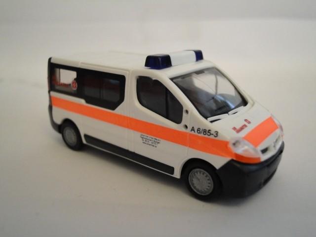 Rietze Renault Trafic Die Johanniter Stuttgart