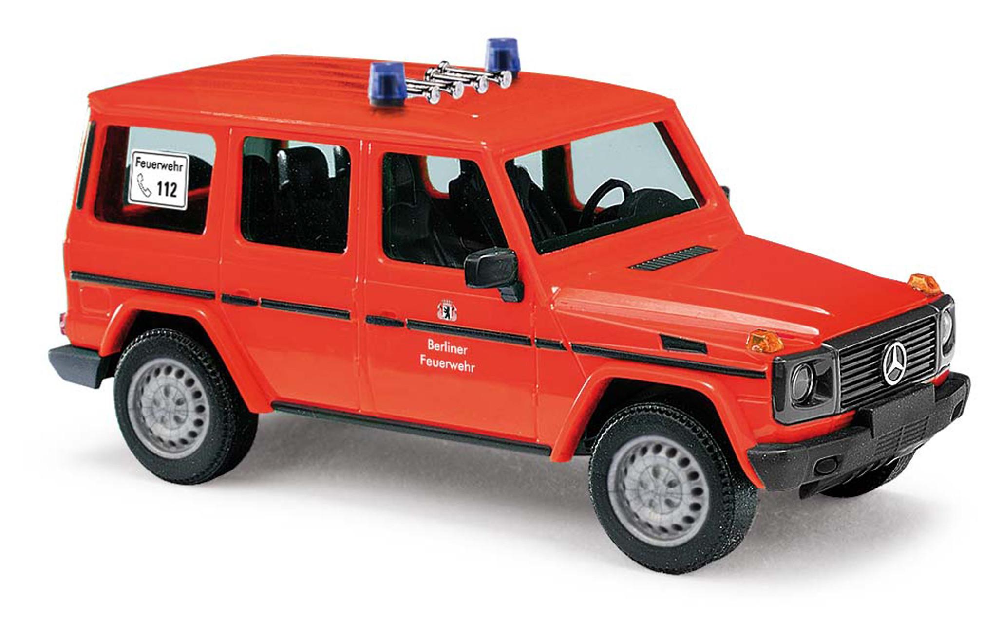 Busch MB G-Klasse 90 ELW Berliner Feuerwehr, NH 02/21
