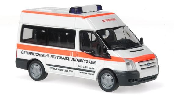 Rietze Ford Transit Rettungshundebrigade (A) -Einzelstück-