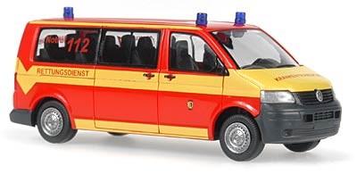 Rietze VW T5 LR Bus Feuerwehr Chemnitz