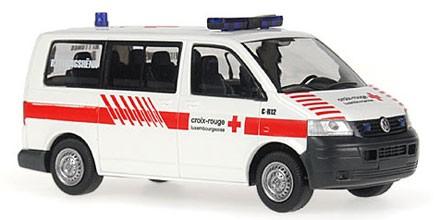 Rietze VW T5 KR Croix-Rouge Rettungshundestaffel (L)