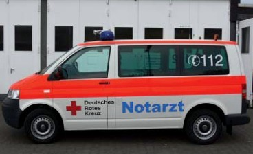 Rietze VW T5 KR NEF DRK Hochtaunus / Bad Homburg