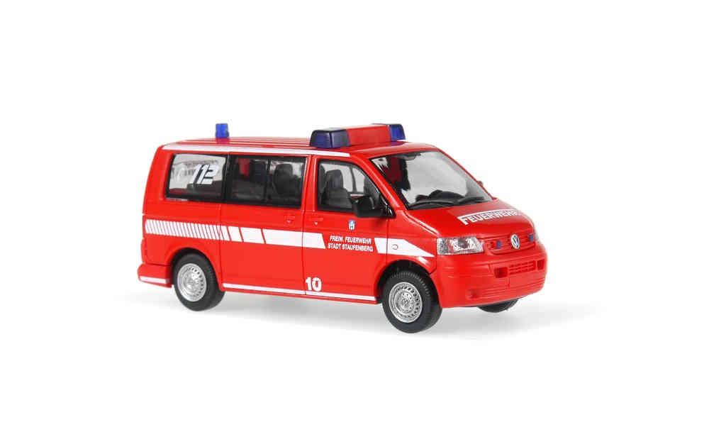 Rietze VW T5 KR KdoW Feuerwehr Staufenberg