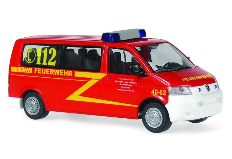 Rietze VW T5 LR MZW Feuerwehr Bergstadt
