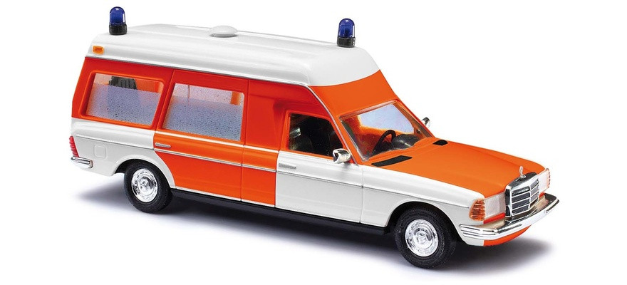 Busch Mercedes-Benz VF 123 Miesen, Krankenwagen der Feuerwehr